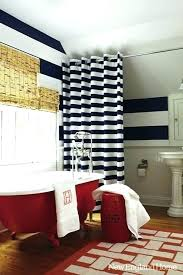 Navy And White Striped Curtains Navy And White Striped Curtains Medium Size Of Blackout Curtains