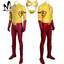 Superhero Halloween Costumes Women Aliexpress Buy Flash Season 3 Wally West Kids Flash