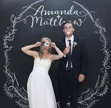 wedding backdrop board chalk board backdrops and signs in adelaide by nigel eaton