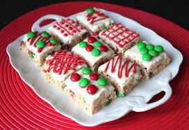 Christmas Treats Christmas Rice Krispie Treats