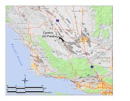 Fresno Ca Zip Code Map Oil Fields In California Map California Map