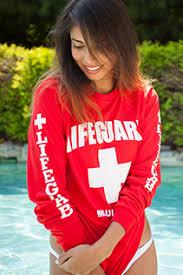 lifeguard sweatshirts female swim suits ladies shorts women