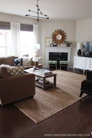 Rugs At Pottery Barn by Dwellings By Devore Our New Jute Rug