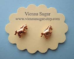 magnetic gold stud earrings magnetic earrings etsy