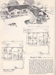 L Shaped House Plans by Vintage House Plans Vintage House Plans 1960s Tudor L Shape