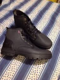 s boots comfort levi s comfort tech canvas boots hi tops shoes grey s size 10