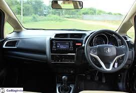 Honda Brio Smt Interior New Honda Jazz Price In India Price Mileage Specifications Review