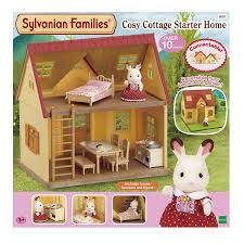 sylvanian families cosy cottage starter home amazon co uk toys
