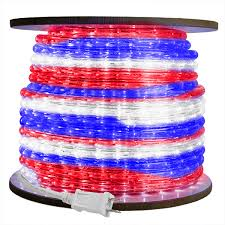 1 2 in led rwb rope light led 13mm rwb 150