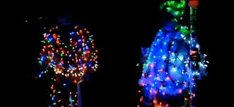 musical christmas light suits sure beat holiday sweaters the