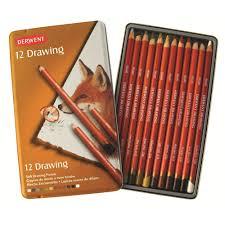 derwent drawing pencils tin ken bromley art supplies