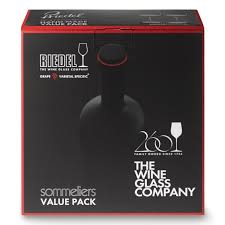 wine glass gift riedel sommelier 260th anniversary bordeaux glasses gift set of 2