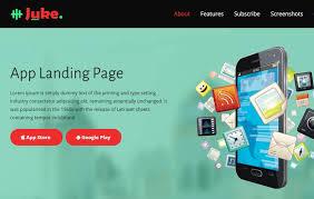 juke bootstrap multipurpose landing page for apps