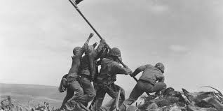 Military Flag Frame Marines Misidentified One Man In Iconic 1945 Iwo Jima Photo