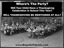 where s the is thanksgiving fading from the school