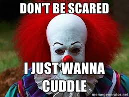 Scary Clown Memes - 20 scary clown memes that ll haunt you at night sayingimages com