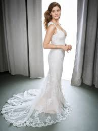 wedding dress nyc the wedding dress trend of 2017 plunging neckline