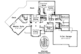 Ranch Floor Plans by Ranch House Plans Bainbridge 10 049 Associated Designs