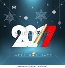 2014 new year greetings card happy stock vector 150318860