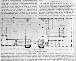 Union Station Floor Plan Plan Of Union Station Winnipeg Main Floor 1911 Flickr