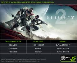 destiny 2 highest light level destiny 2 pc graphics and performance guide geforce