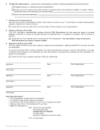 Special Power Of Attorney Form by Form 3520 Power Of Attorney