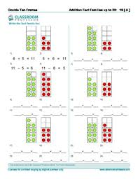 frame worksheets addition subtraction and multiplication of