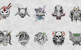 Slipknot Flag Download Wallpaper Squad Diablo Harley Quinn