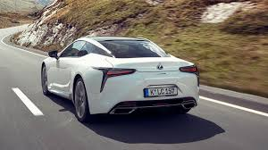 cars lexus 2017 lexus lc 500h sport 2017 review by car magazine