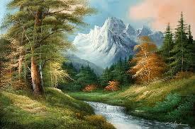 Mountain Landscape Paintings by Classic Mountain Landscape Oil Painting Wholesale