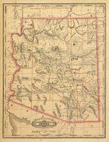 map of arizona arizona antique maps and historical atlases historic map works