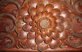 wonderful wood work picture of padmanabhapuram palace