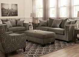 cindy crawford living room sets cindy crawford calista microfiber chair and a half living room