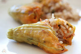 Zucchini Flowers Stuffed - stuffed zucchini flowers spicy anthous aφrodite u0027s kitchen a
