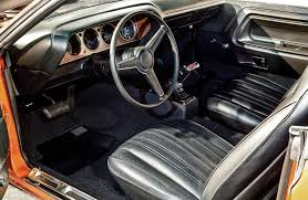 Dodge Challenger Interior - the mopars of sema rod network