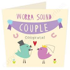 congrats wedding card worra lush wedding card wot ma like