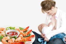 can you eat seafood while breastfeeding