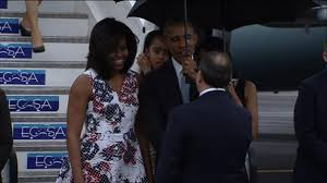 Obama First Family by President Obama First Family Arrive In Havana Cuba Video Abc News