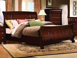 Wood Sleigh Bed Sleigh Bed Queen Wood Sleigh Bed Queen For Women U2013 Home Decor