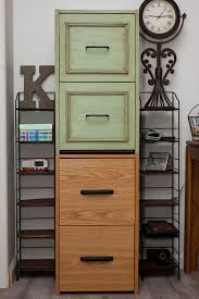 Kitchen Cabinets Painted With Annie Sloan Chalk Paint by Cheap Laminate File Cabinet Painted With Chalk Paint Before And
