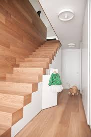 Banister Staircase 12 Excellent Examples Of Stairs Without Railings Contemporist