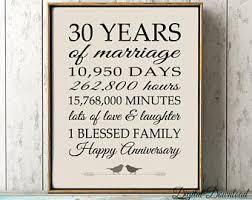 30th anniversary gift 30th anniversary etsy