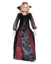 Dracula Halloween Costume Lady Dracula Child Costume Floor Length Halloween Costume