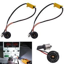 load resistors for led lights xyivyg 2pcs 50w 8ohm bau15s 150 degree py21w 7507 led load