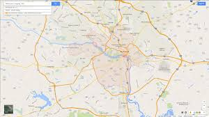 Map Of Virginia Cities Richmond Virginia Map