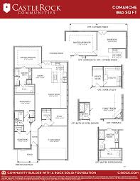 comanche savannah silver home plan by castlerock communities in