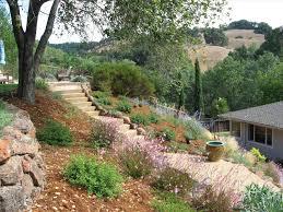 creative hillside landscape ideas u2014 bistrodre porch and landscape