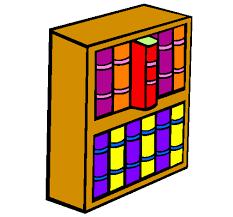 lo scaffale disegno libreria colorato da utente non registrato il 03 di maggio