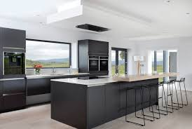 black modern kitchen cabinets 31 black kitchen ideas for the bold modern home grey color kitchen