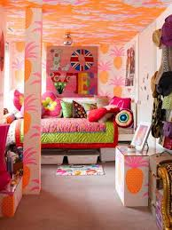 Ideas For Modern Interior Decorating With Orange Color Shades - Colorful home interior design